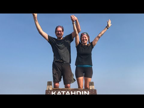 Day 179 Summit Day Video Jen & Greg's 2017 Appalachian Trail Thru Hike