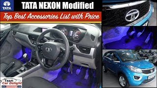 Tata Nexon Best Accessories List with Price | Nexon Modified Interior,Exterior with All Accessories