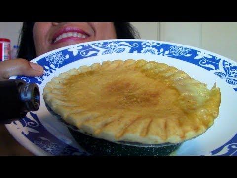 ASMR Eating Chicken Pot Pie ScorpioAnnYT