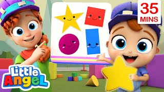 Shapes and Colors + More Baby John Sing Alongs And Little Angel Nursery Rhymes