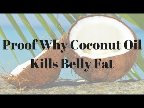 Proof Why Coconut Oil Kills Belly Fat – 744