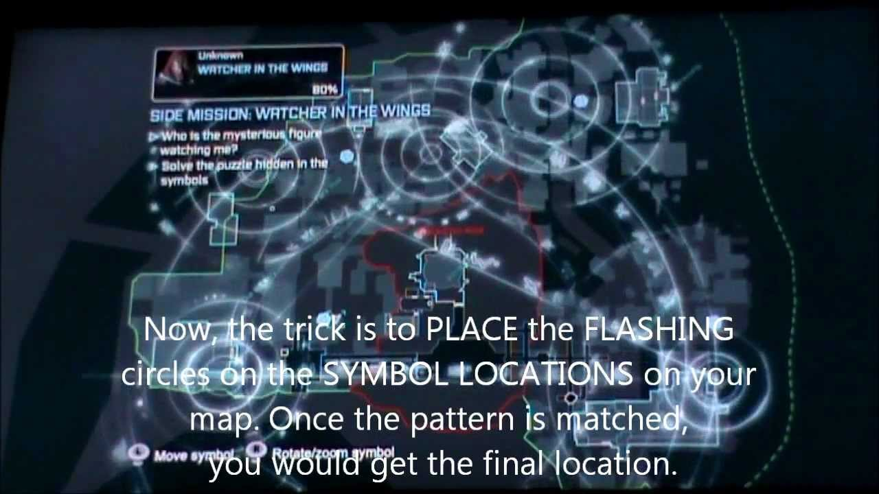 Batman Arkham City Watcher In The Wings Side Mission Guide Youtube