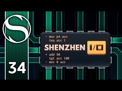 CONTROL ROUTER 4 - Let's Play Shenzhen I/O - Shenzhen IO Gameplay Part 34