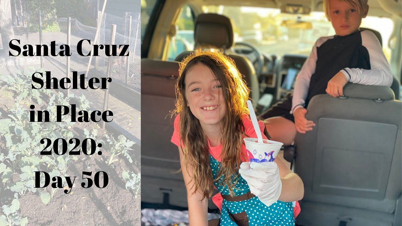 Santa Cruz Shelter in Place 2020: Day 50