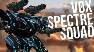 🔴 War Robots - Spectre Squad Battles (with Clan VØX) + Gold Giveaway | WR Live Stream Gameplay