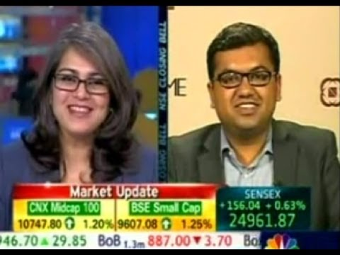 Sensex at 100,000 by 2020 | VARUN GOEL, KARVY on CNBC 050614 14:42PM