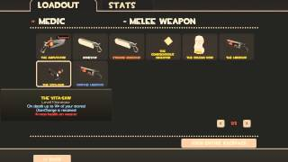 TF2 Medic Guide - Weapons