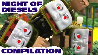 Thomas and friends : The Night of Diesels compilation | capsule toys plarail