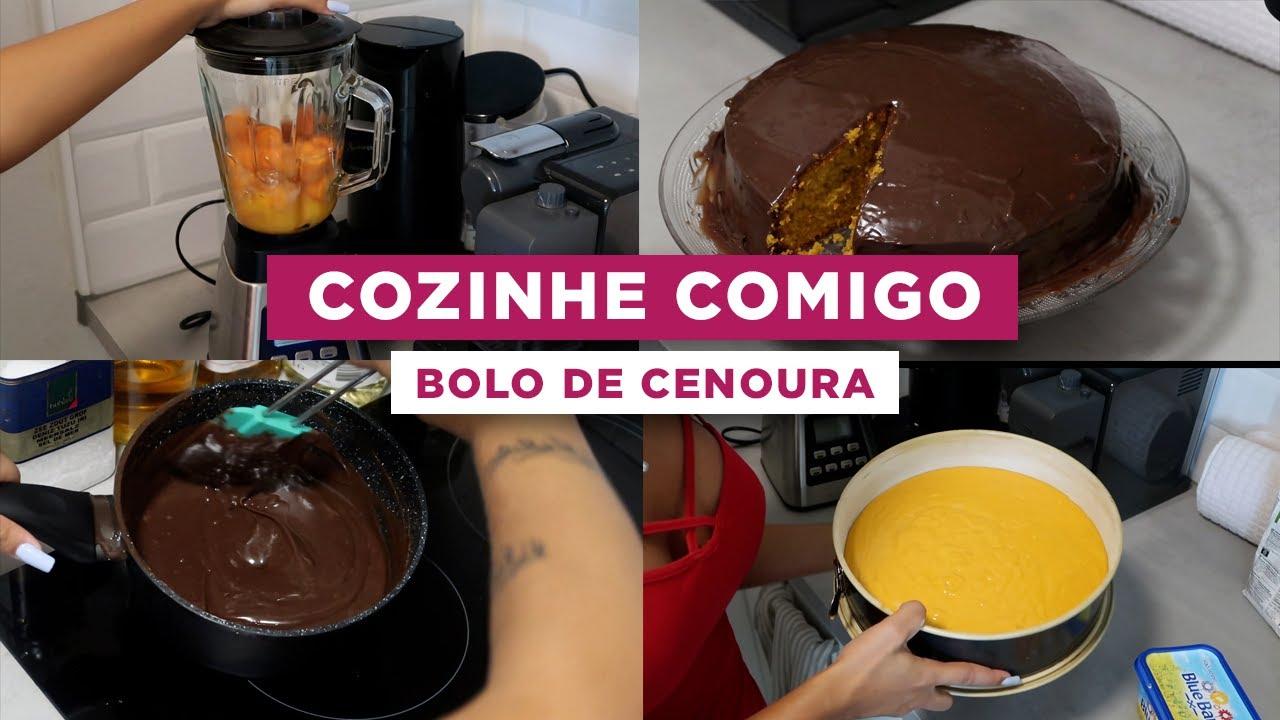 Bolo de cenoura 🥕 | COZINHE COMIGO POR 7 DIAS