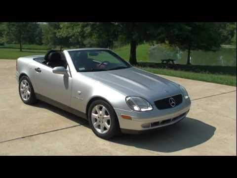 1998 mercedes slk 230 silver youtube. Black Bedroom Furniture Sets. Home Design Ideas