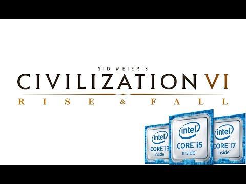 Civilization VI: Rise and Fall | Intel Kaby Lake (HD 620) | Full HD 1080p |