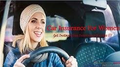 Best Car Insurance For Women - Cheap Women Car Insurance