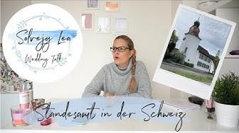 Standesamt in der Schweiz | Ziviltrauung | Wedding Talk | Solvejg Lea