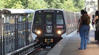 WMATA Metro Rail: Kawasaki & Alstom 7000 & 6000 Red Line at Silver Spring