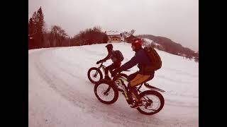 WINTERBIKEN IN WINDISCHGARSTEN