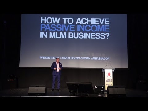 How to achieve passive income in MLM business?