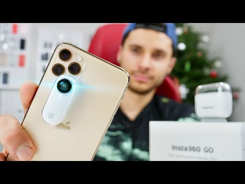 The Cutest iPhone Accessory! Insta360 GO Review