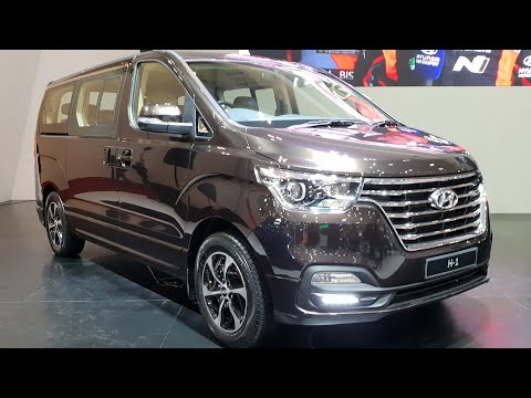 In Depth Tour Hyundai H-1 Royale CRDi [TQ] Facelift 2018 - Indonesia