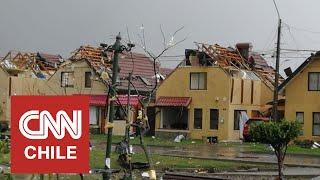 40 casas con daños y dos mujeres lesionadas: Alcalde de Concepción detalla efectos de tromba marina