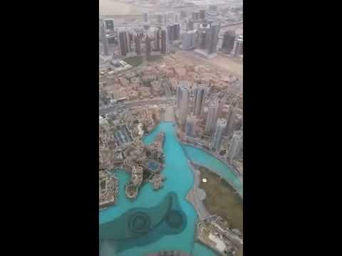 Burj Khalifa Panorama Dubai