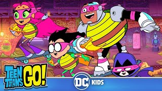 Teen Titans Go! En Español | Tortugas Ninja Adolescentes Titanes | DC Kids