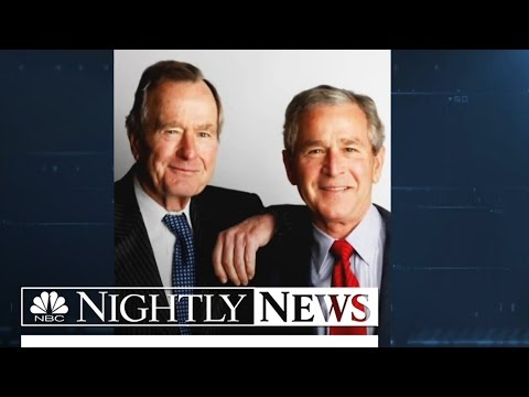 Bush 41 Unleashes Harsh Words About Son's Presidency | NBC Nightly News