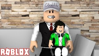 MY FAMILY IN ROBLOX-STORY AT BLOXBURG