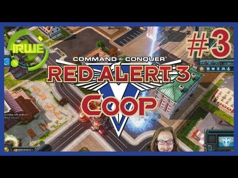 C&C Red Alert 3 Coop Allied Mission 3 - The Famous Liberation