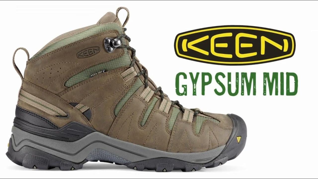 The Keen Gypsum Mid walking boot