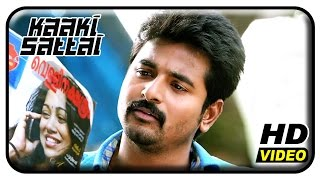 kaaki sattai tamil movie scenes sivakarthikeyan helps prabhu to catch a thief sri divya