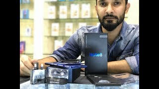 SAMSUNG NOTE 8 DEEPSEA BLUE 128GB UNBOXING AND iRIS SCANNER REVIEW