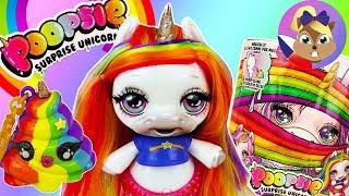 Poopsie Surprise Unicorn | Roztomilý jednorožec kadí sliz | Ukázka