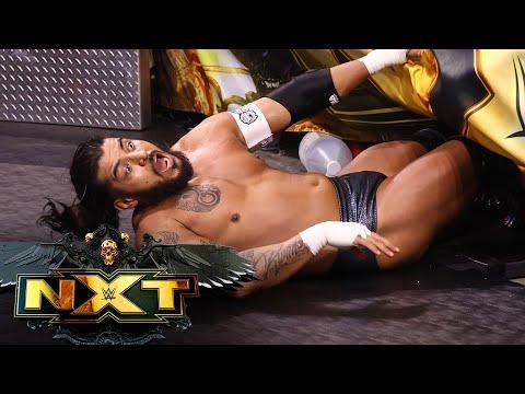 Dexter Lumis vs. Santos Escobar: WWE NXT, July 13, 2021