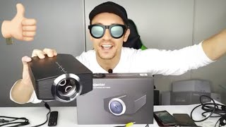 YG500 Mini LED Projector Review & How to : Check What This Can Do!!!