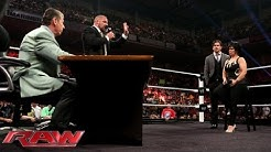 Stephanie McMahon fires Vickie Guerrero; Mr. McMahon appoints Brad Maddox the new Raw GM: Raw, July