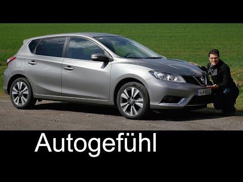 Nissan Pulsar Tiida FULL REVIEW test driven 1.2T Accenta new neu 2016/2017 - Autogefühl