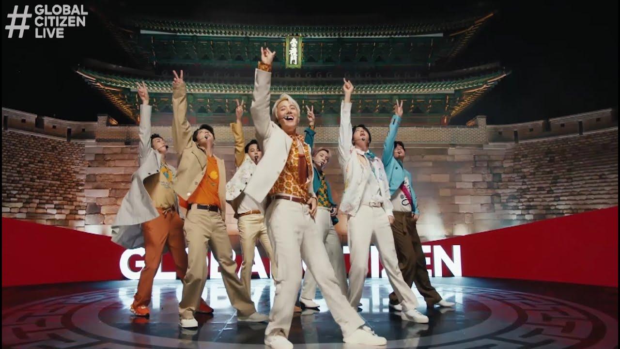 Download BTS (방탄소년단) 'Permission to Dance' @ Global Citizen Live