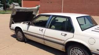 1987 Buick Le Sabre Limited 4 Door Sedan 3.8 L 6 Cylinder Fuel Injection Gas Engine 3 Speed Automat