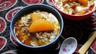 Oats Porridge With Orange Sauce..yum