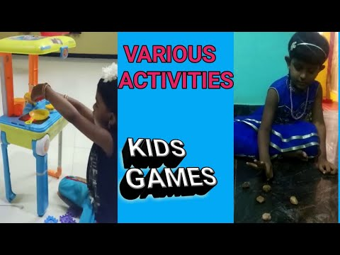 KIDS Interested Activities At Home