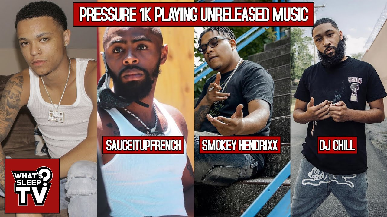 The Next Big Scam Rapper? Pressure1k Previews Upcoming Music W/ French, Smokey Hendrixx, & DJ Chill