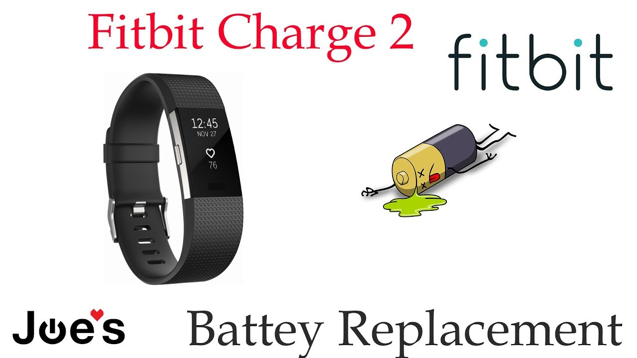 Fitbit Charge 2 Smartwatch Replacement Battery