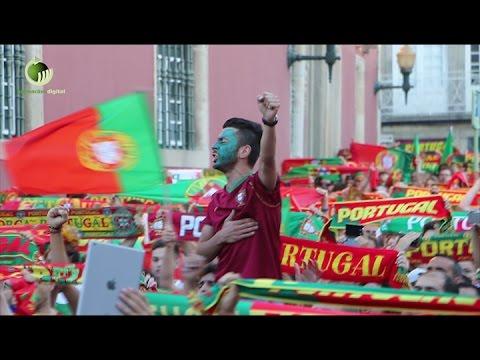 Guimarães festejou vitória de Portugal no Europeu
