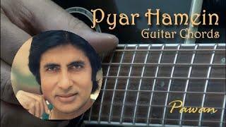 RD - Kishore Classics - Pyar Hamein, Yeh Jo Mohabbat, Ek Ajnabi - Guitar Chords by Pawan