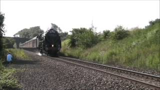 70013 'Oliver Cromwell' on Sharnbrook Bank (06/07/13) Thumbnail