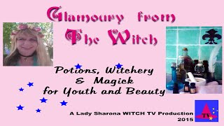 Lady  Sharona Witch TV Glamory of The Witch