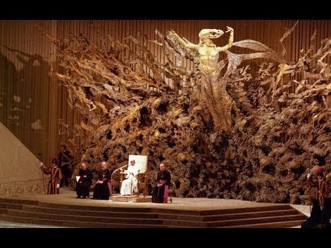 Satans throne at the Vatican