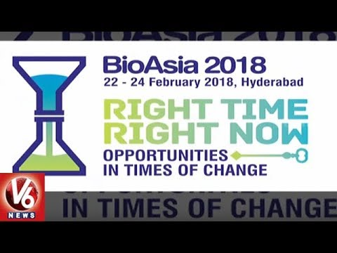 15th Edition Of Bio Asia 2018 To Kick Start From Today In Hyderabad   V6 News