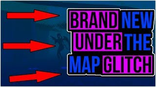 Brand New Under The Map Glitch! Fortnite Glitches