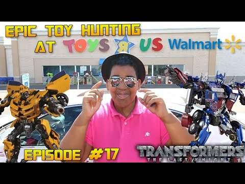 FOUND MPM-3 BUMBLEBEE & MPM-4 OPTIMUS @ TOYS R US USA!  [Epic Toy Hunting #17]